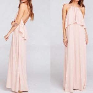 Show Me Your MuMu Aimee Ruffle Maxi Dress
